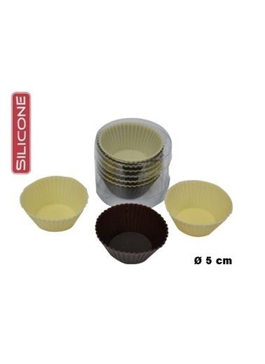 Fackelmann Fackelmann 62047 12' Li Silikon Mini Muffin Kalıbı Renkli